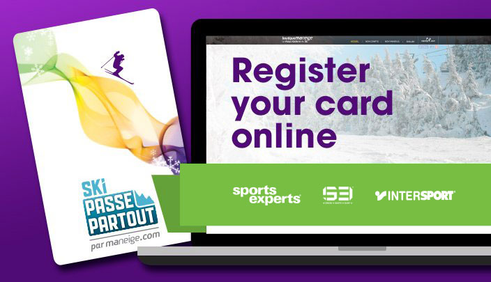 Register your card online