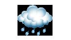 Faible pluie
